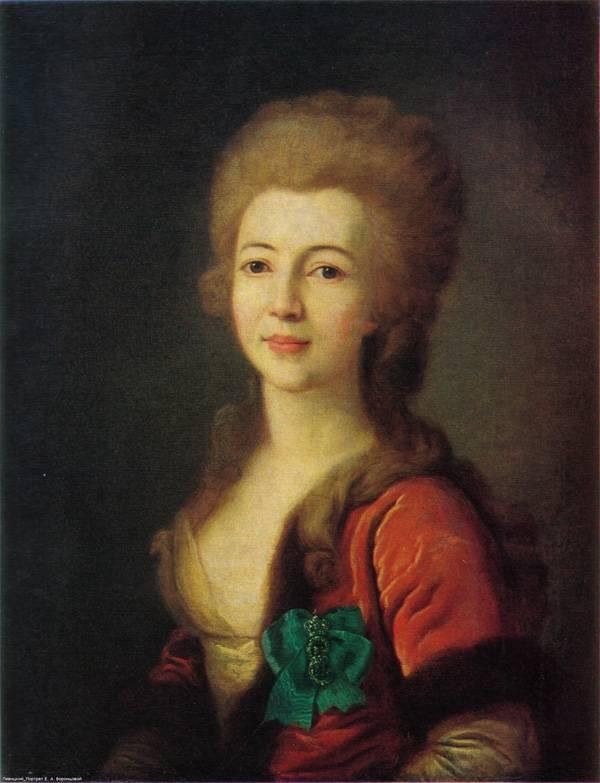 Картина Портрет Е.А. Воронцовой Левицкого