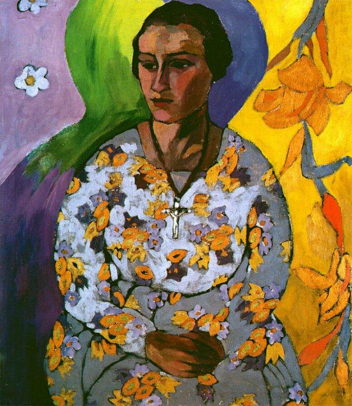 Портрет Н. Сведонской Лентулова
