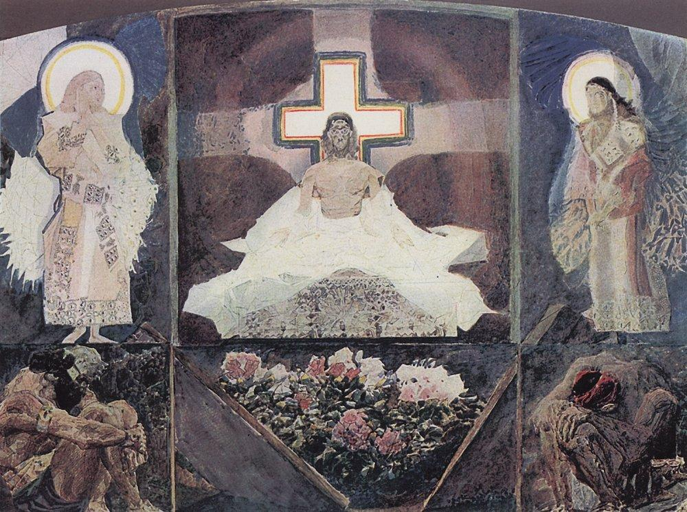 Картина Воскресение Врубеля