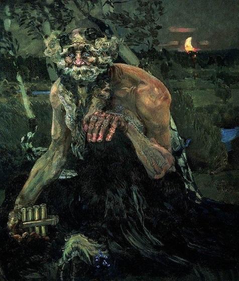 Картина Пан Врубеля