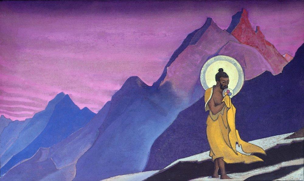 Картина Благословенная душа. Рамакришна Рериха