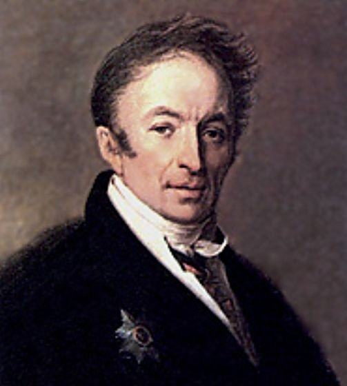 Портрет Николая Карамзина Венецианова