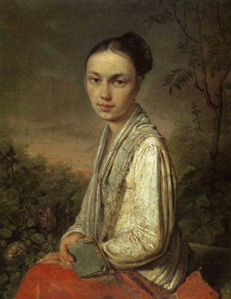 Портрет В.С.Путятиной Венецианова
