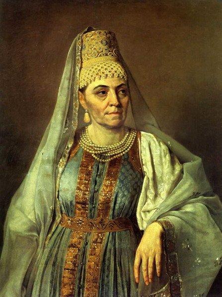 Портрет в русском костюме Венецианова