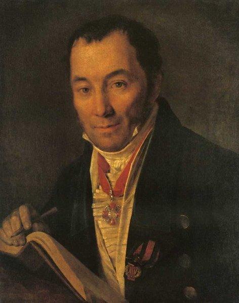 Портрет П.В.Хваского Венецианова