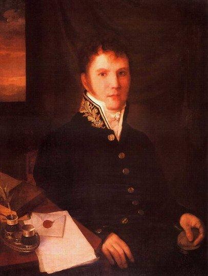 Портрет чиновника Венецианова