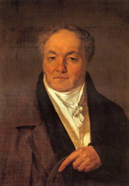 Портрет М.И.Милюкова Венецианова