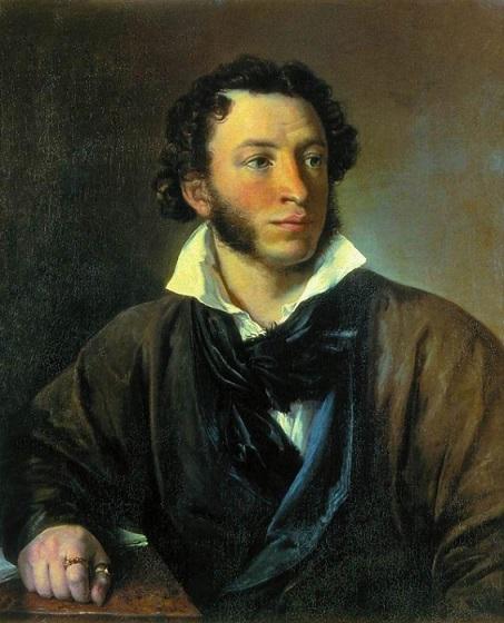 Портрет А.С. Пушкина Тропинина