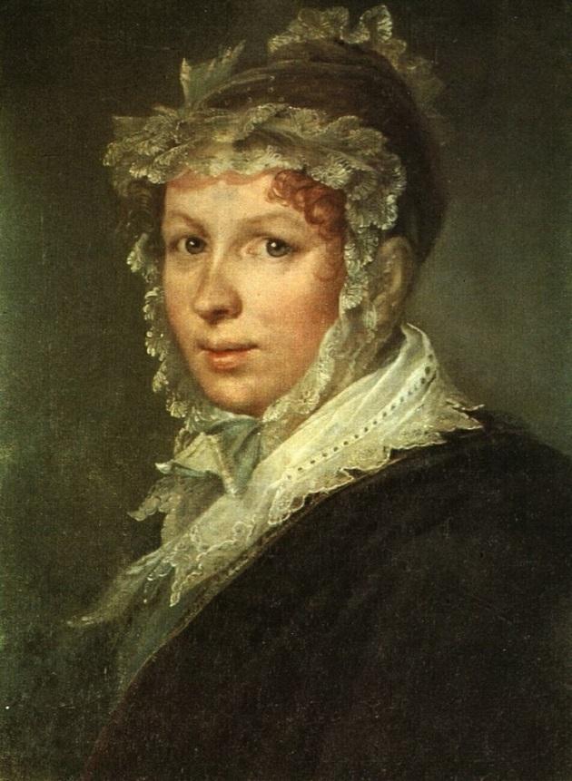 Портрет жены художника Тропинина