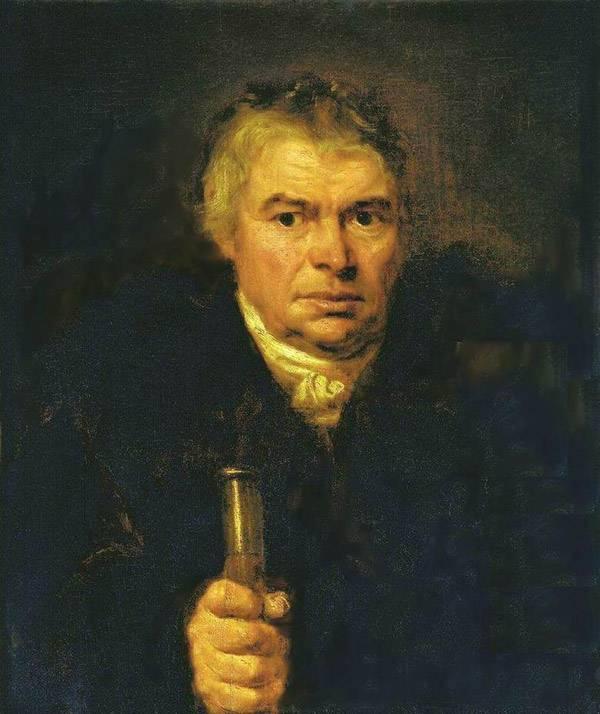 Портрет отца художника Адама Карловича Швальбе Кипренского