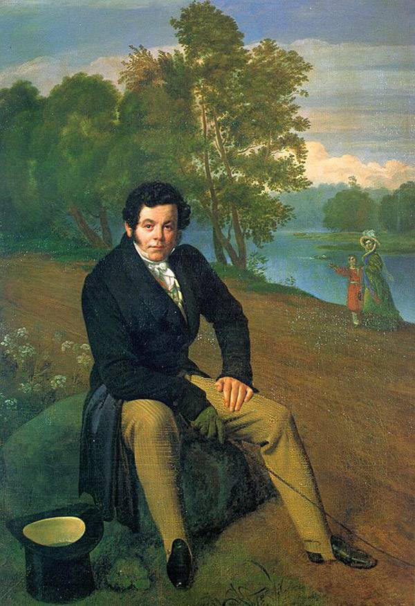 Портрет К.И.Альбрехта Кипренского
