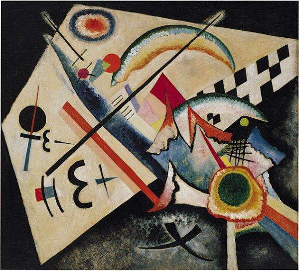 Картина Белый крест Кандинский