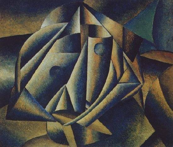 Картина Голова крестьянской девушки Малевич
