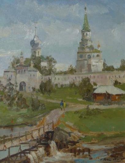 Картина Александровская Слобода Голиков