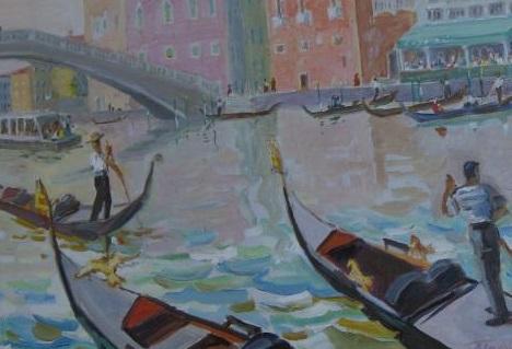 Картина Венеция Голиков