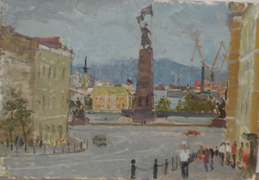 Картина Владивосток Голиков