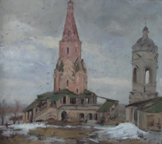 Картина Коломенское Голиков