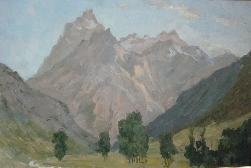 Картина Грузия. Долина Голиков