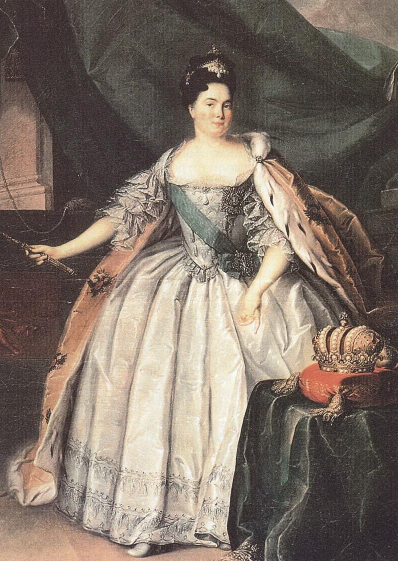 Императрица Екатерина I Алексеевна. Последняя треть XVIII века. Г. Бухгольц фото