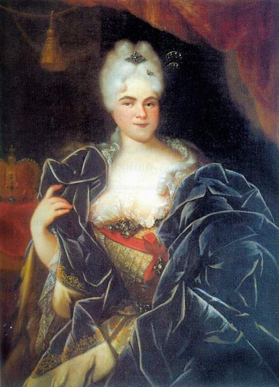 Портрет Екатерины I. 1717 год Иван Никитин фото