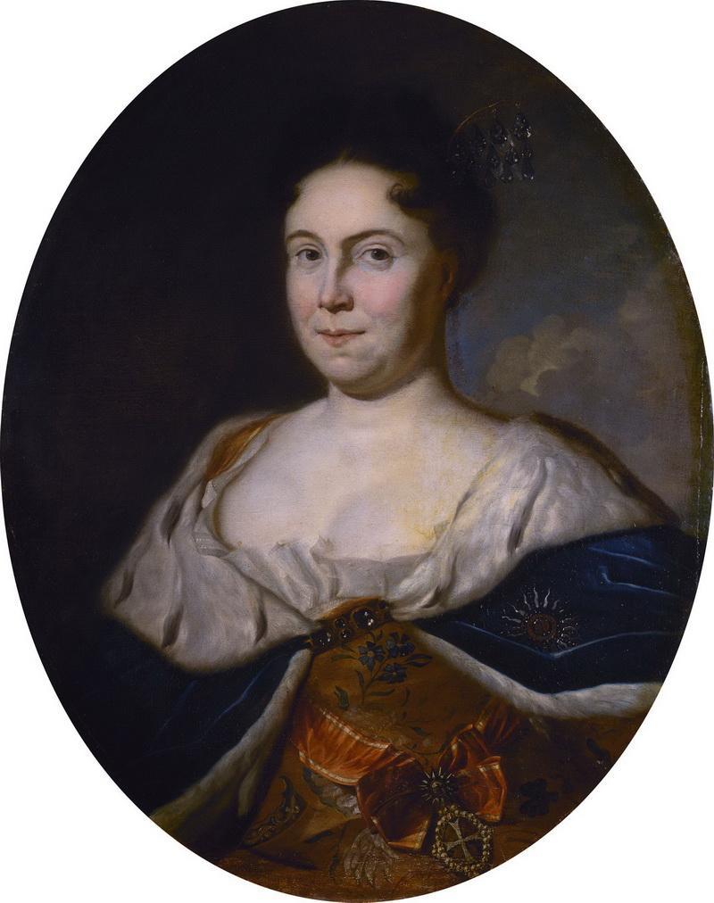 Портрет Екатерины I Карел де Моор 1717 год фото
