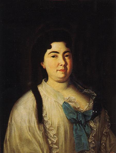 Портрет Екатерины I в пеньюаре Луи Каравака первая половина 1720-х годов фото