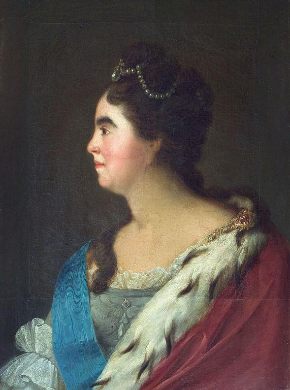 Екатерина I неизвестного художника XVIII века фото