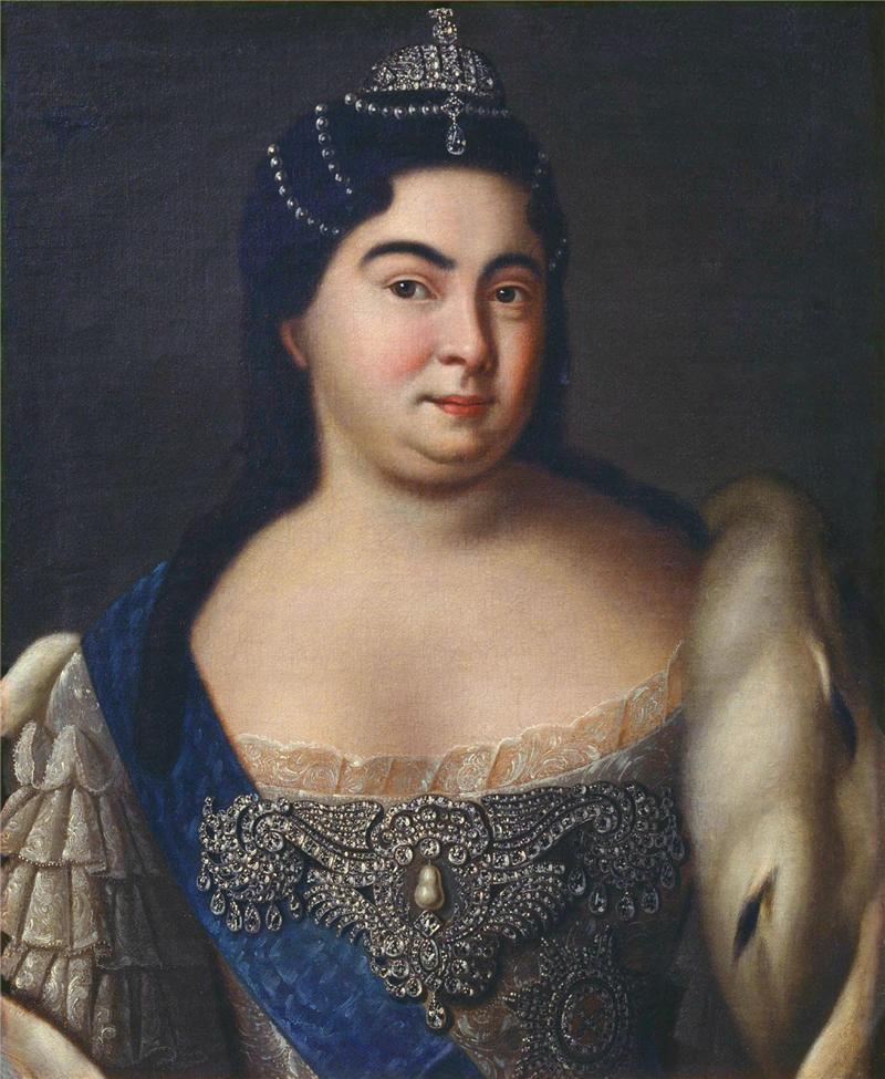 Портрет Екатерина I неизвестного художника фото