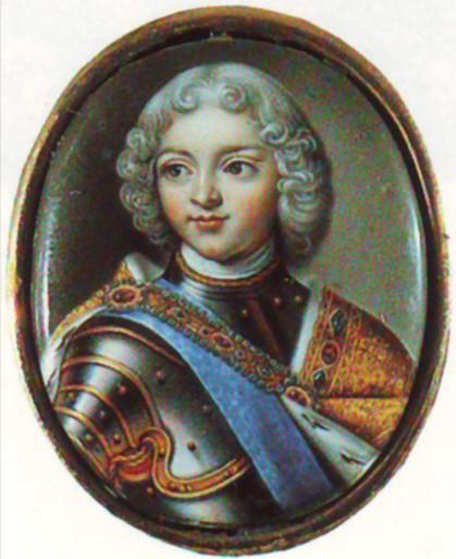 Портрет Петра II А.Г. Овсова в конце 1720-х годов фото