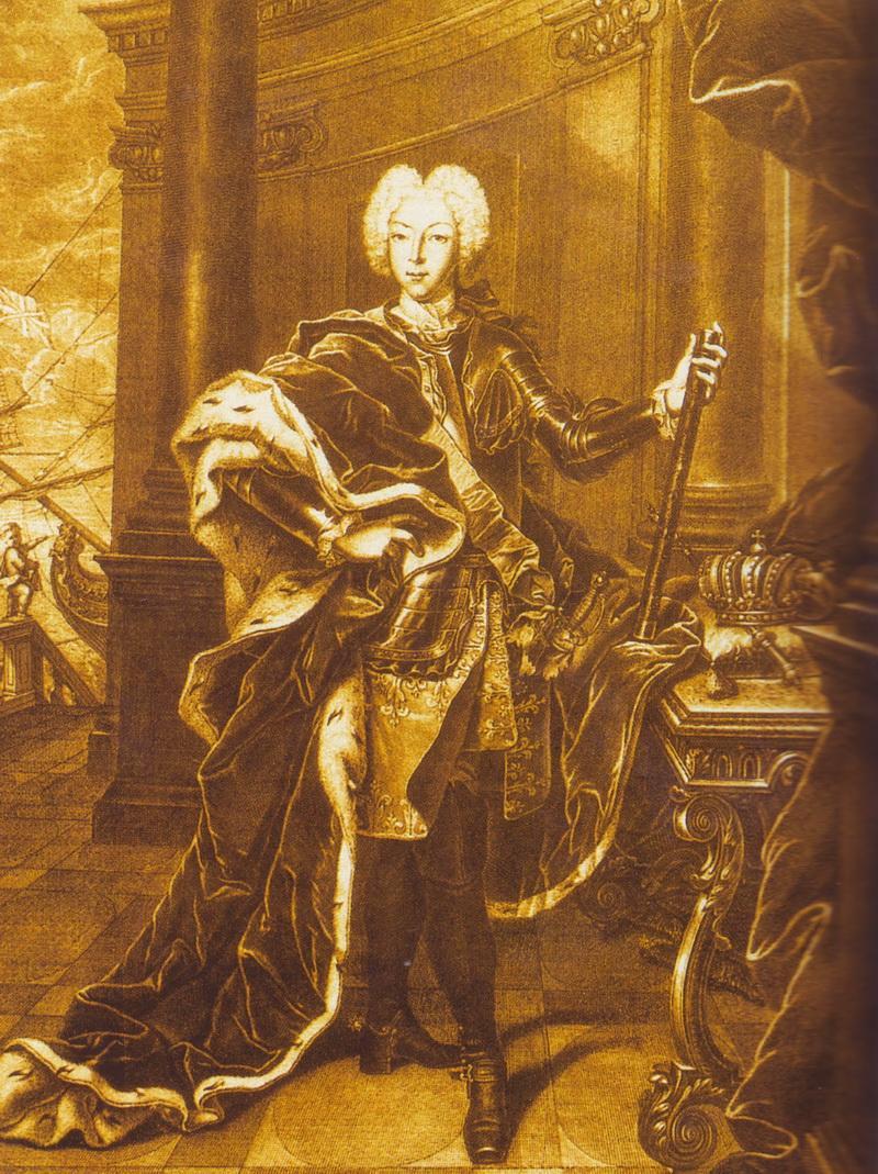 Портрет императора Петра II Х. Вортмана 18 век фото