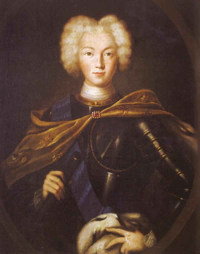 Портрет императора Петра II неизвестного художника фото