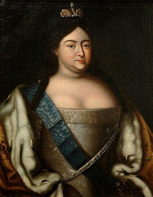 Портрет императрицы Анны Иоанновны неизвестного художника фото