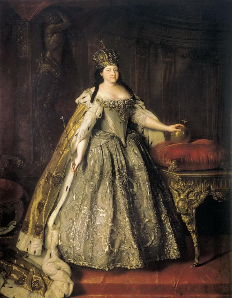 Портрет императрицы Анны Иоанновны Луи Каравакка 1730 года фото