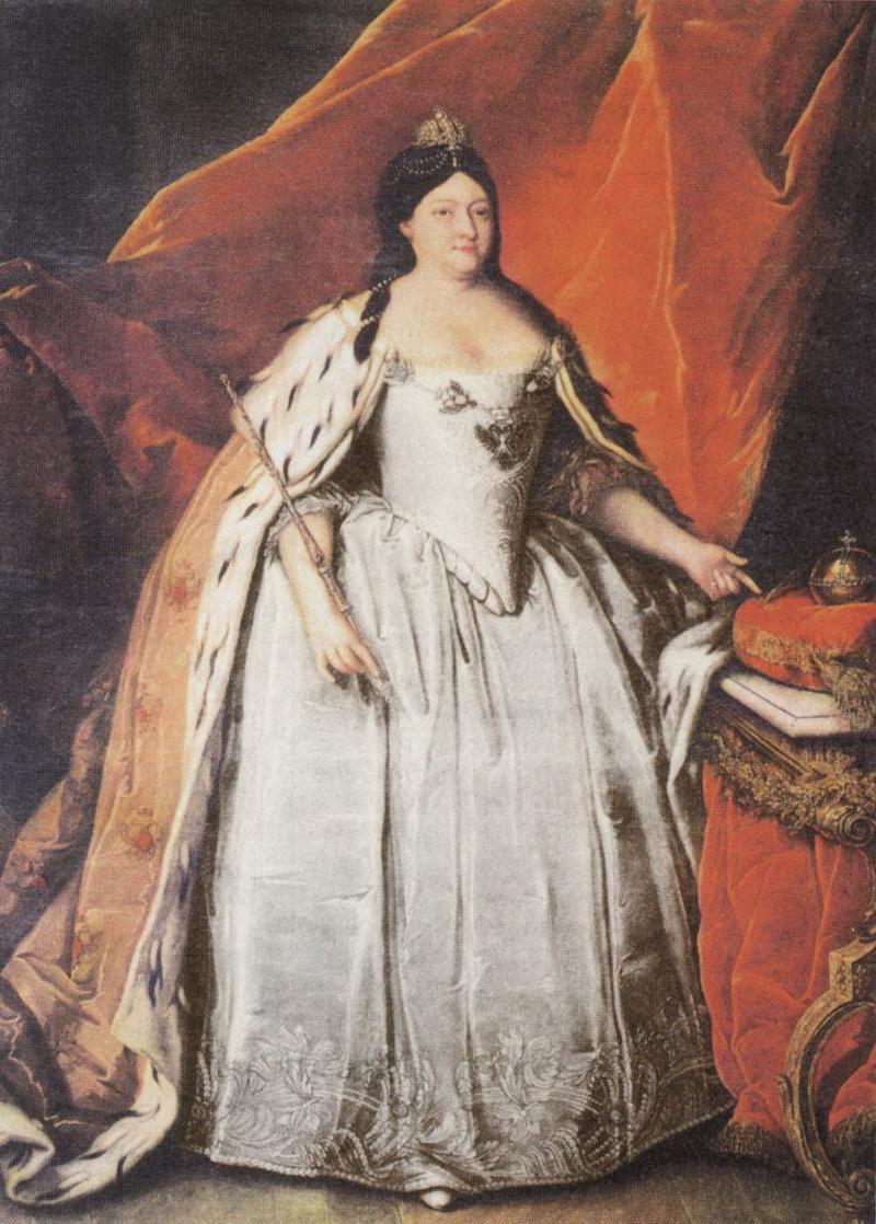 Портрет императрицы Анны Ивановны последняя треть XVIII века Г. Бухгольца фото