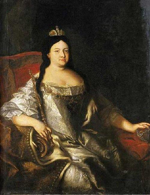Портрет императрицы Анны Ивановны неизвестного художника фото