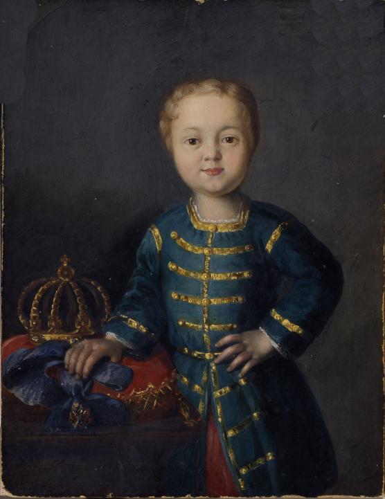 Портрет императора Иоанна VI Антоновича неизвестного художника фото