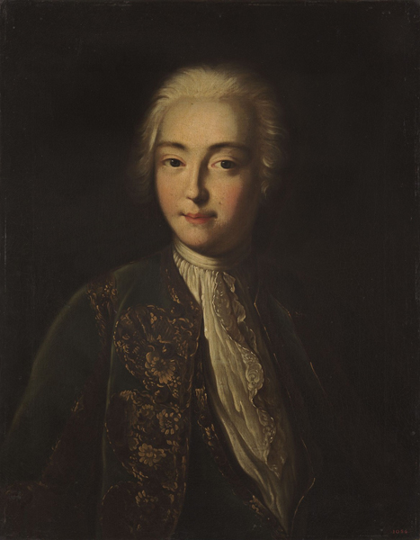 Портрет Елизаветы Петровны в молодости неизвестного художника середины XVIII века фото