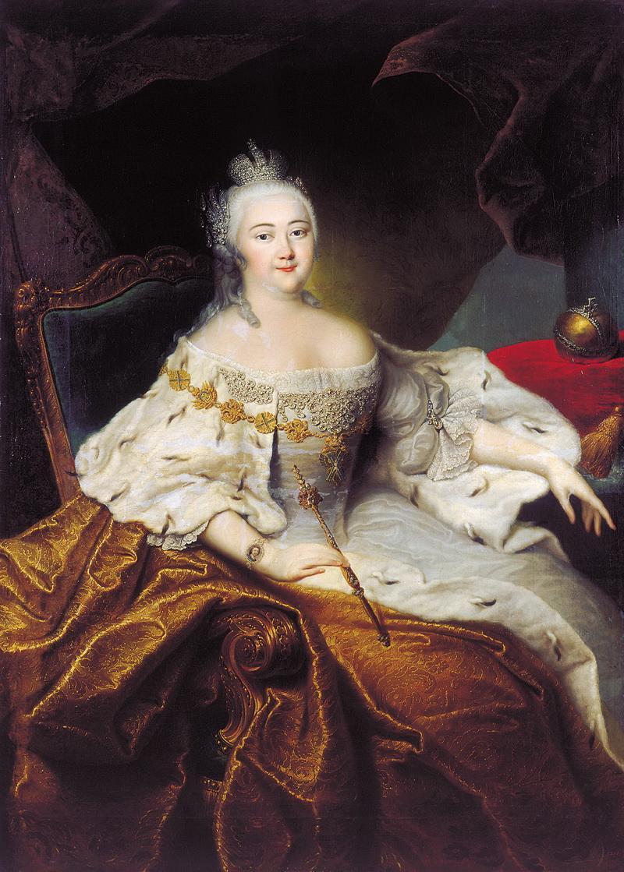 Портрет императрицы Елизаветы Петровны Иоганна Гроота фото