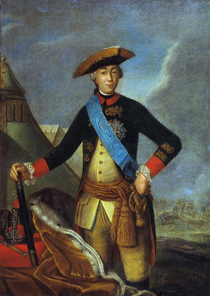 Портрет Петра III неизвестного художника фото