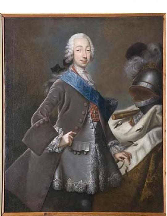 Портрет великого князя Петра Фёдоровича неизвестного художника фото