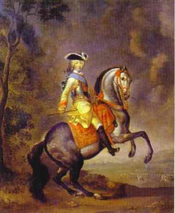 Портрет великого князя Петра Федоровича Георга Кристофа Гроота фото