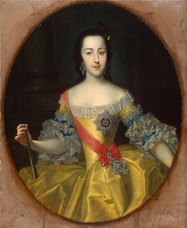 Портрет великой княгини Екатерины Алексеевны Георга Гроота фото
