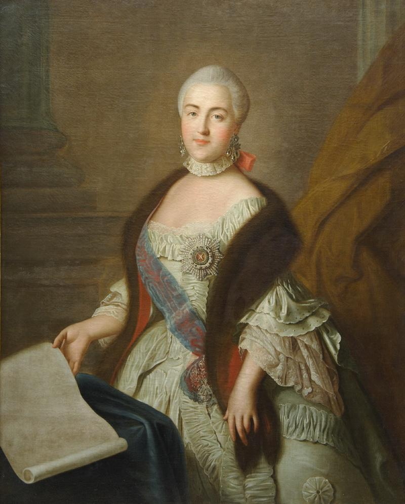Портрет великой княгини Екатерины Алексеевны Ивана Аргунова фото