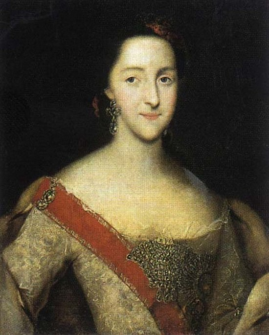 Портрет великой княгини Екатерины Алексеевны Алексея Антропова 1753 года фото