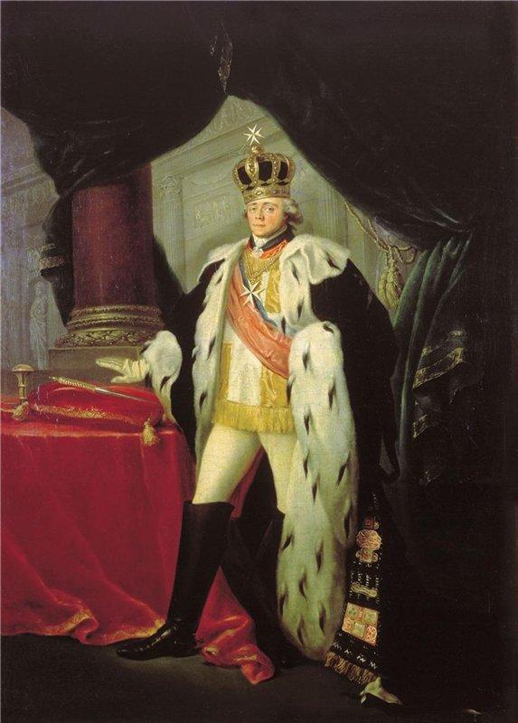 Портрет императора Павла I Сальватора Тончи фото