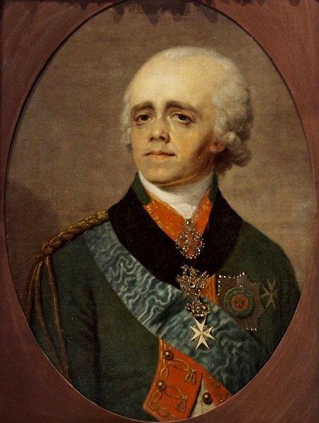 Портрет Павла I Владимира Боровиковского 1800 года фото