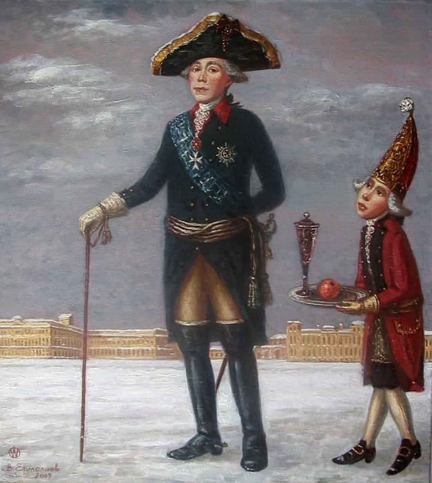 Портрет Императора Павла I 2005 года Виталия Ермолаева фото