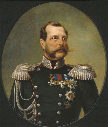 Портрет Императора Александра II Освободителя 1868 года Н.А. Лаврова фото