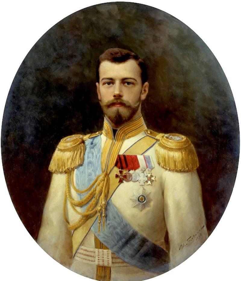 Портрет Николая II Ильи Галкина фото