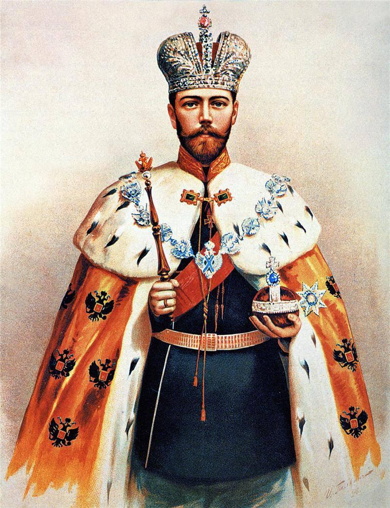 Портрет Императора Николая II неизвестного художника фото